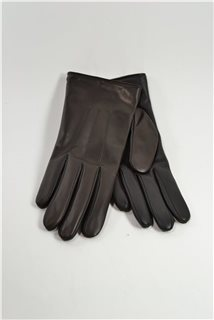 Touchscreen nappa gloves, ladies, cashmere lined,