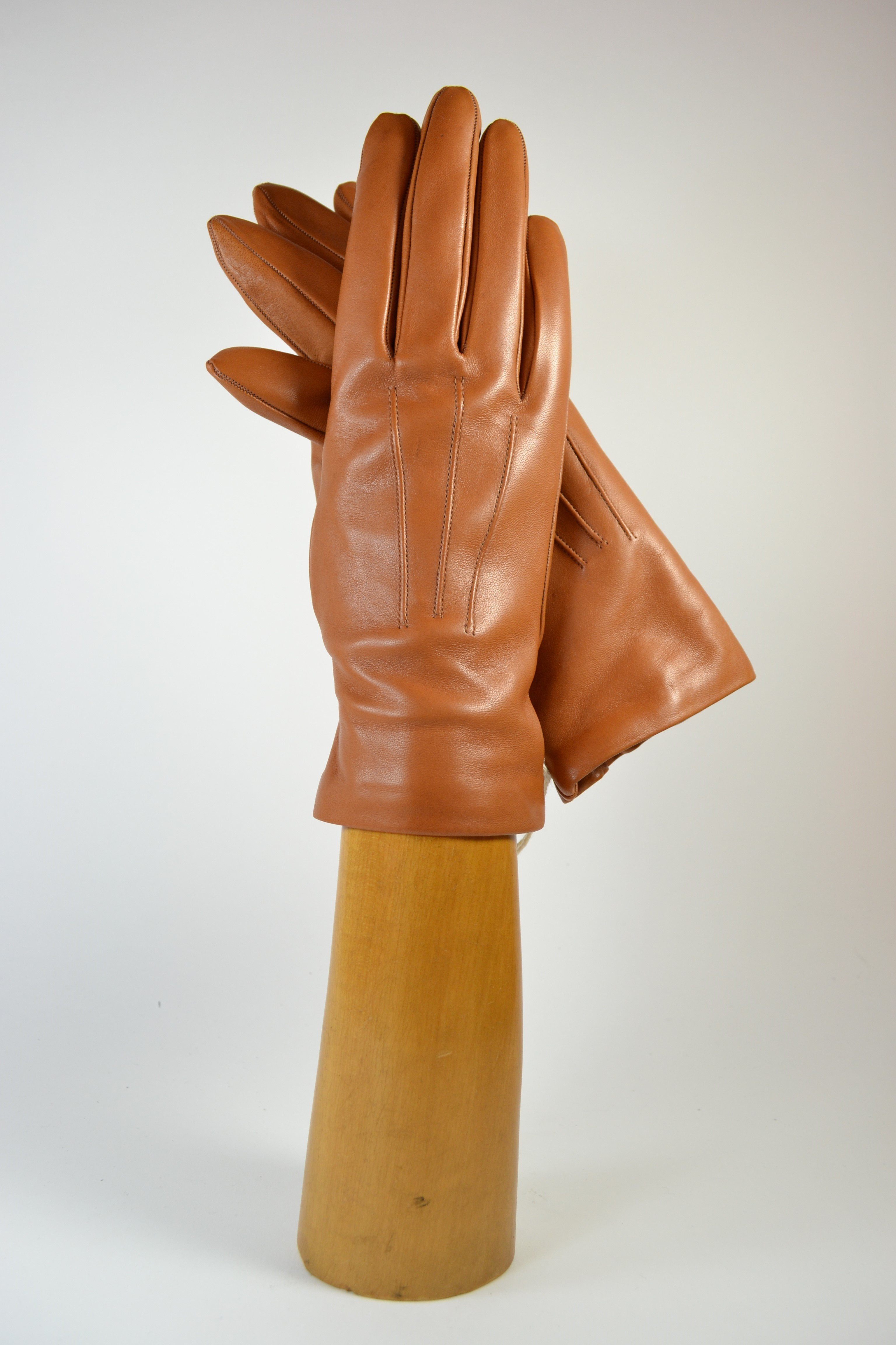 ladies nappa gloves, cashmere lined, tan