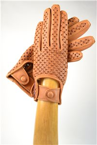 woven nappa driving gloves, ladies, black