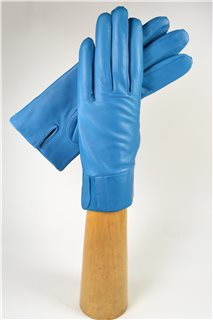 Ladies nappa gloves, cashmere lined, turquoise
